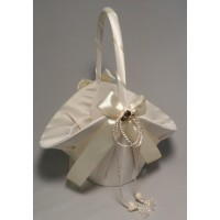 Hats Off Flower Girl Basket