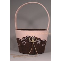 Romantic Vintage Flower Basket
