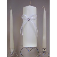 Lucky in Love Unity Candle Set