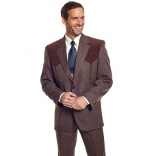 Circle S 'Boise' Western Sport Coat in Heather Chestnut