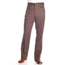 Circle S Dress Ranch Pant in Heather Chestnut