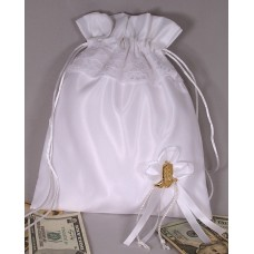 Ivory Bride's Purse with Boot