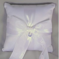 Lucky in Love Ring Pillow