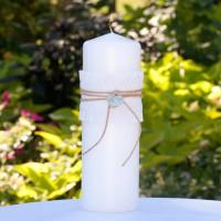 Rustic Romance Unity Candle