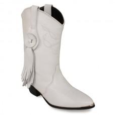 Sahara Bridal Boots, White