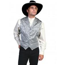 """Wah Maker """"Twin City"""" Vest in Grey"""